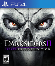 Box art for the game Darksiders II Deathinitive Edition