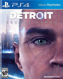 Box art for the game Detroit: Become Human