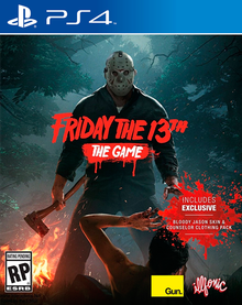 Box art for the game Friday The 13th: The Game