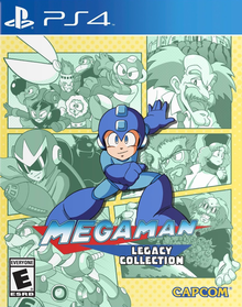 Box art for the game Mega Man Legacy Collection