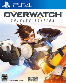 Box art for the game Overwatch - Origins Edition