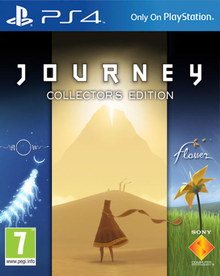 Capa do jogo Journey Collector's Edition
