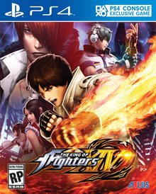 Capa do jogo The King of Fighters XIV
