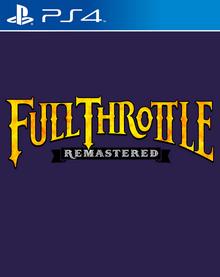 Box art for the game Full Throttle Remastered