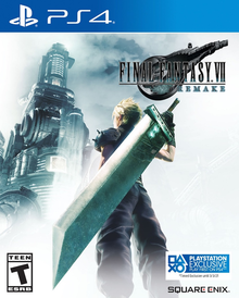 Box art for the game Final Fantasy VII Remake