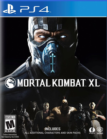 Box art for the game Mortal Kombat XL