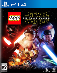 Box art for the game LEGO Star Wars: The Force Awakens