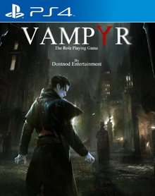 Box art for the game Vampyr