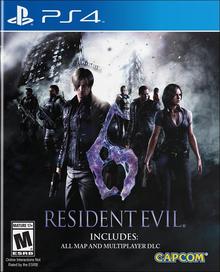 Box art for the game Resident Evil 6