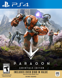 Box art for the game Paragon