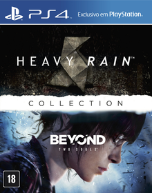 Box art for the game The Heavy Rain & Beyond: Two Souls Collection