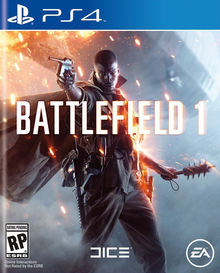 Box art for the game Battlefield 1