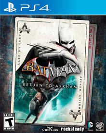 Capa do jogo Batman: Return to Arkham