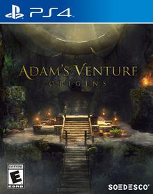 Box art for the game Adam's Venture Origins
