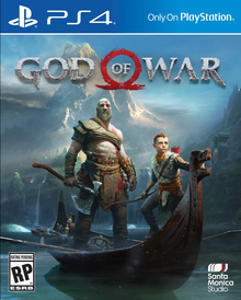Capa do jogo God of War
