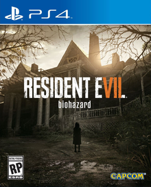 Box art for the game Resident Evil 7 biohazard