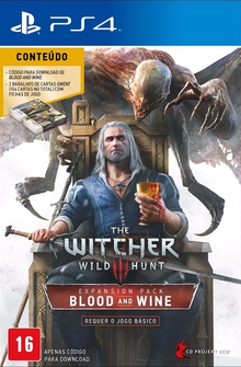 Capa do jogo The Witcher 3 - Blood and Wine