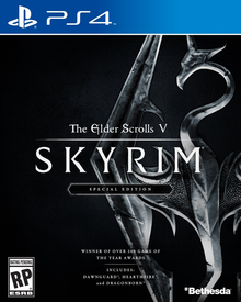 Box art for the game The Elder Scrolls V: Skyrim - Special Edition