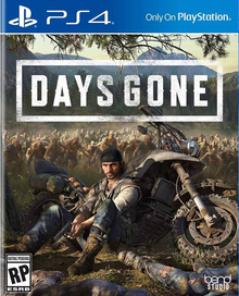 Box art for the game Days Gone