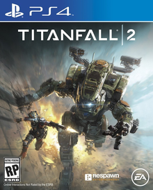 Box art for the game Titanfall 2