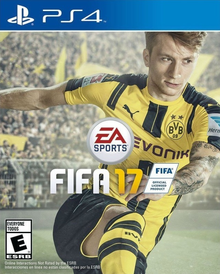 Box art for the game Fifa 17
