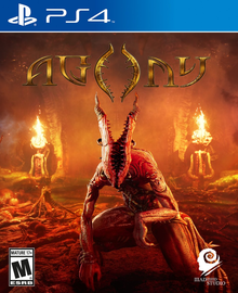 Box art for the game Agony