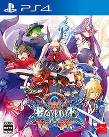 Box art for the game BlazBlue: Central Fiction