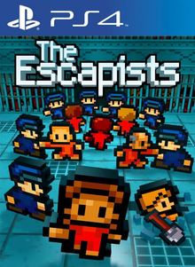 Box art for the game The Escapists