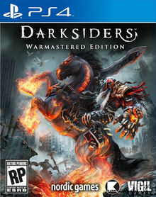 Box art for the game Darksiders: Warmastered Edition