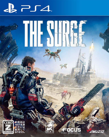 Box art for the game The Surge