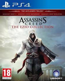 Capa do jogo Assassin's Creed The Ezio Collection