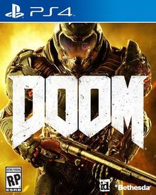 Capa do jogo Doom (2016)