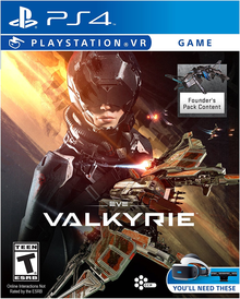 Box art for the game EVE: Valkyrie