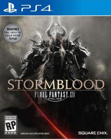 Box art for the game Final Fantasy XIV: Stormblood
