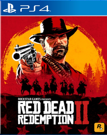 Capa do jogo Red Dead Redemption 2
