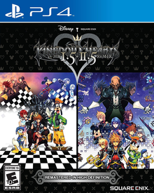 Box art for the game Kingdom Hearts HD 1.5 + 2.5 ReMIX