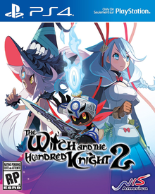 Box art for the game The Witch and the Hundred Knight 2