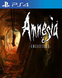 Box art for the game Amnesia Collection