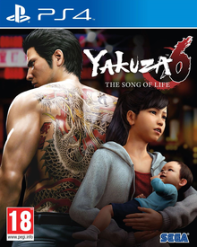 Box art for the game Yakuza 6: The Song of Life