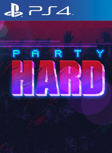 Box art for the game Party Hard