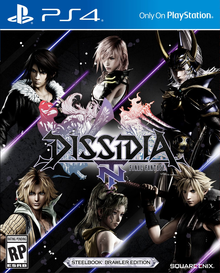 Box art for the game Dissidia: Final Fantasy