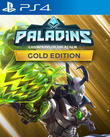 Box art for the game Paladins: Champions of the Realm