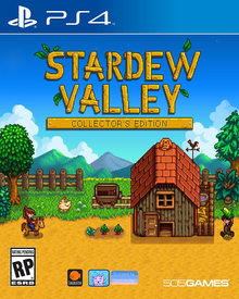 Box art for the game Stardew Valley