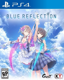 Capa do jogo Blue Reflection: Sword of the Girl Who Dances in Illusions
