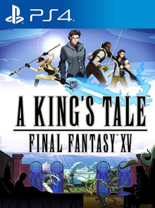 Box art for the game A King´s Tale: Final Fantasy XV