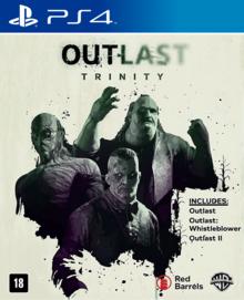 Capa do jogo Outlast Trinity