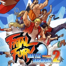 Box art for the game Fatal Fury: Battle Archives Volume 2
