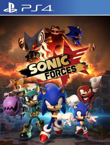 Capa do jogo Sonic Forces