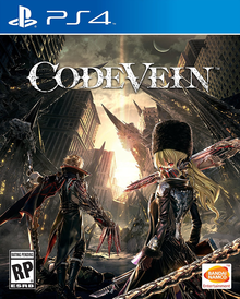 Box art for the game Code Vein