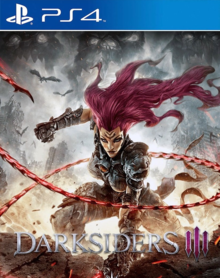 Box art for the game Darksiders III